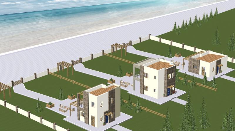 Παραθεριστικές-κατοικίες-Χαλκιδική-Όψη-B